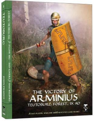 Turning Point Wargame Victory of Arminius, The - Teutoburg Forest, IX AD Box SW