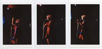 Lot of 3 SYLVIE VARTAN 4x6 Rare Photo on Stage