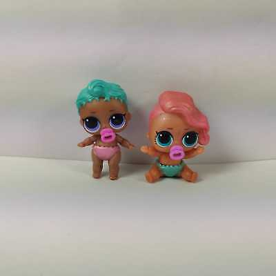 Lil Sisters LIL Pearl Shell ROLLER SK8ER Changing Color 2pcs Lol Surprise Dolls