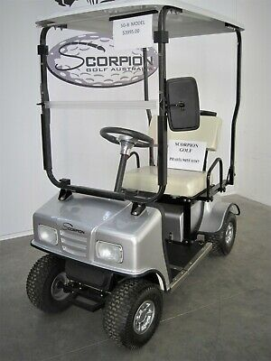 Scorpiongolf Cart/car/buggy Scooter With Roof Sg8