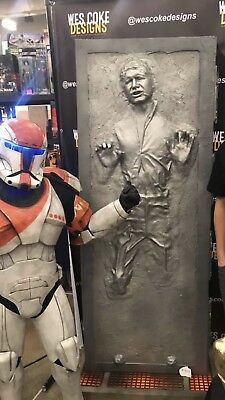 Life Size Han Solo in Carbonite,Kit, Star Wars 1:1 Scale Movie Prop