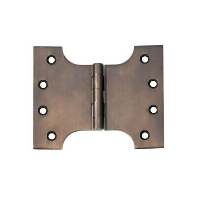 PARLIAMENT HINGE-100 X 125mm SOLID BRASS-TEN FINISHES-french door-fine finish
