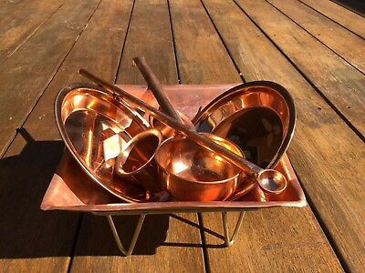 Pure Copper Havan Set