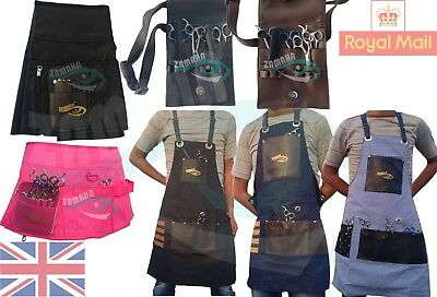 Professional Leather Hair Cutting Hairdressing Barber Apron Cape for Salon Hair