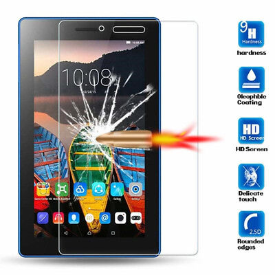 """For Lenovo Tab 3 4 7.0"""" 8.0"""" Tablet Premium Tempered Glass Film Screen Protector"""