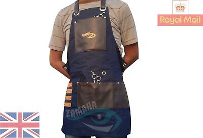 Professional Synthetic Hairdressing Barber Apron Cape Barber Hair stylist BLUE