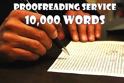 Proofreading Service for Written Content - 10000 Words - Edit Grammar & Spelling