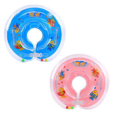 1-18 Months Baby Swimming Neck Float Inflatables Ring Adjustable Safety Aids