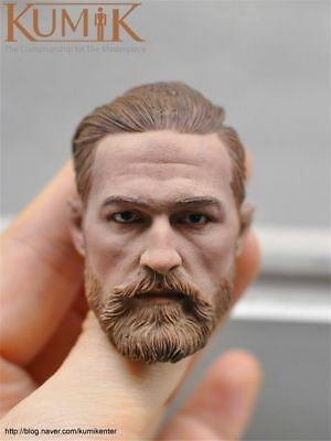 "KUMIK 1//6 Asia Star Actor White Hair Beard Head Sculpt KM18-36 F 12/"" Figure Toys"