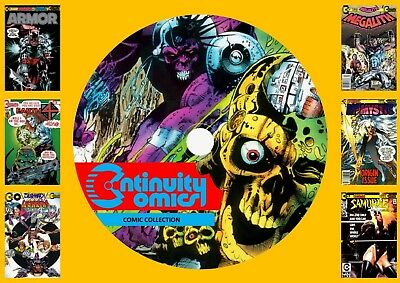 Continuity Comics Collection On DVD Rom