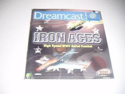 Original Dreamcast Manual (Iron Aces) All Pages Complete