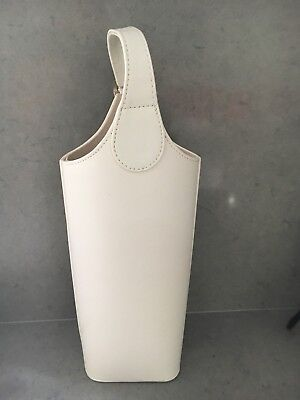 New Unwanted Leatherette White Wine Holder FROM DAVID JONES