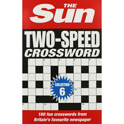 The Sun Two-Speed Crossword - Collection 6 (Paperback), Non Fiction Books, New