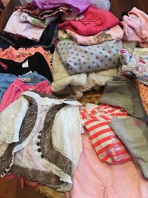 FREE  POSTAGE Girls sz 4 Bulk Clothes 30 Plus Items