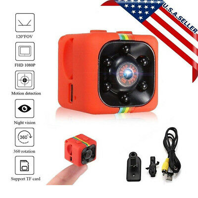 SQ11 Full HD 1080P Mini Car Spy Dash Cam IR Night Vision Hidden DV DVR Camera US