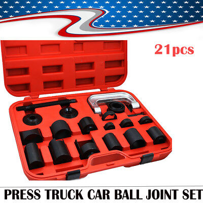21xC PRESS TRUCK CAR BALL JOINT DELUXE SET SERVICE REMOVER INSTALLER UPS 2017
