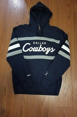 1a8701f99 NWT DALLAS COWBOYS Mitchell Ness NBA Head Coach HOODY Sweatshirt sz large