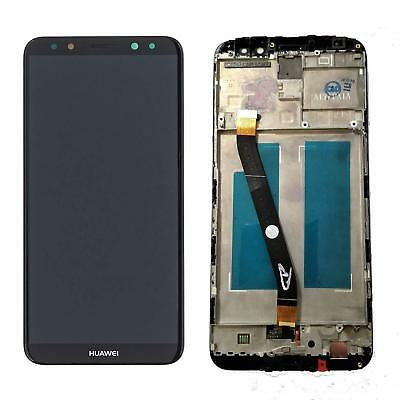 Lcd Display Huawei Mate 10 Lite Rne-L21 Frame Touch Nero
