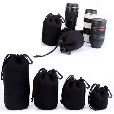 Matin Neoprene waterproof Soft Camera Lens Pouch bag Case Size- S M L XL