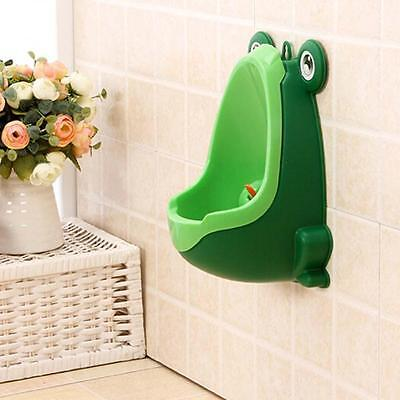 Frog Children Potty Toilet Training Kid Urinal for Boy Pee Trainer Bathroom B TR