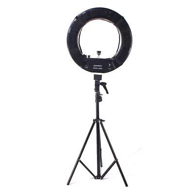"5500K 18"" Ring Light Dimmable Lighting Video Continuous Light Stand Kit * D z"