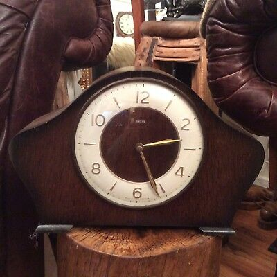 Antique Smith,s Chamberley Mantle Clock