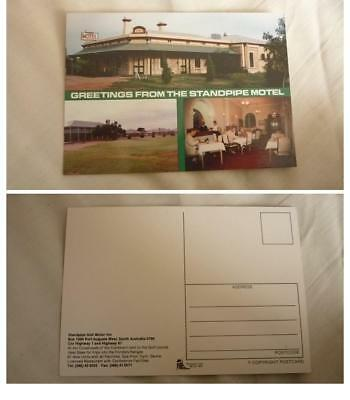 Old Australian Postcard, Port Augusta South Australia, The Standpipe Golf Motel