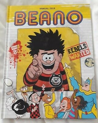 Beano Annual 2019 (Annuals 2019) by DC Thompson New Hardback Book