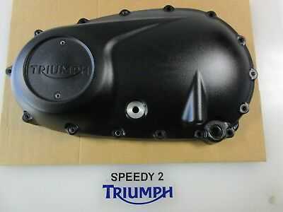 Triumph Bonneville T120 T100 Bobber Thruxton Clutch Engine Cover Black T1267765