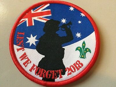 Girl Guides / Scouts ANZAC Day Scouts
