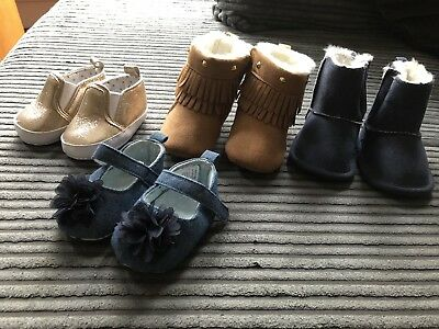 Job Lot Baby Shoes Size 3-9months
