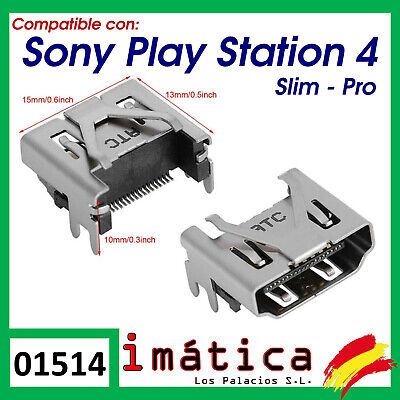 CONECTOR HDMI PS4 PLAYSTATION 4 SLIM CUH-20xx Y PRO CUH-70xx PUERTO PORT CABLE