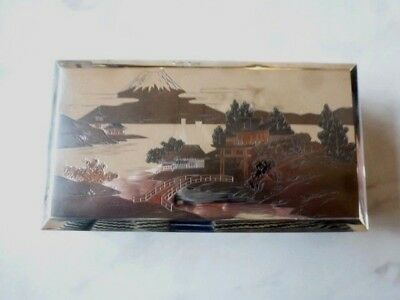 Antique JAPANESE - Solid Silver - 0.950 - Box