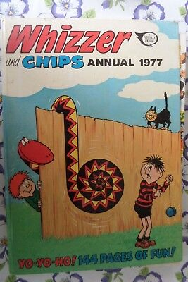 Whizzer and Chips Annual 1977 hardback book