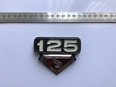 Vintage Honda  125 Side Panel Badge
