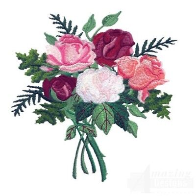 40 Antique Rose Designs for Machine Embroidery - On a CD