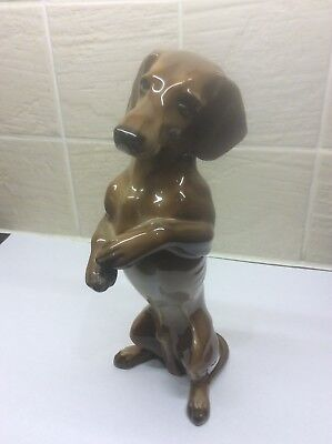 German Vintage Rosenthal Daschund/sausage Dog Figurine - Beautiful