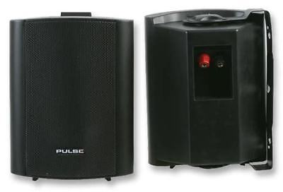 PULSE SPK40-BK BLACK-ABS INSTALL SPEAKERS with BRACKETS - BRAND NEW & BOXED