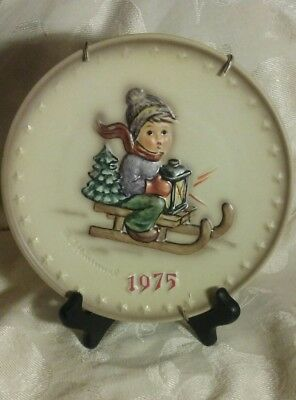MJ Hummel Goebel Annual Collector Plate Lot 1975 1978 1980