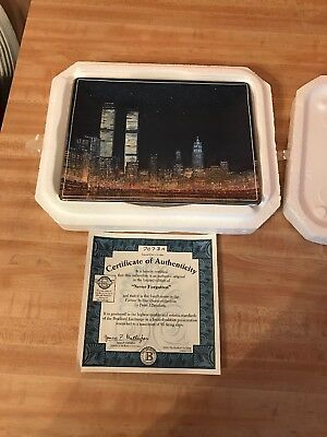 Bradford Exchange Never Forgotten Forever In Our Hearts Collector Plate