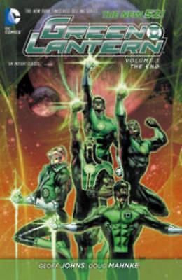 Green Lantern Volume 3: The End TP (The New 52) , Johns, Geoff, Very Good