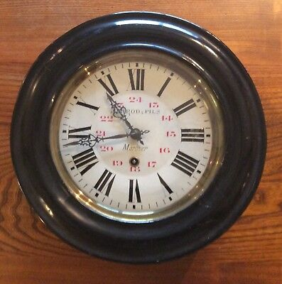 Antique French Post Office Clock