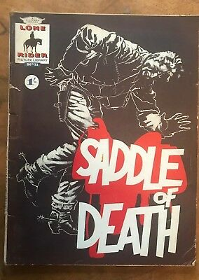 Lone Rider Picture Library No 11 Saddle of Death