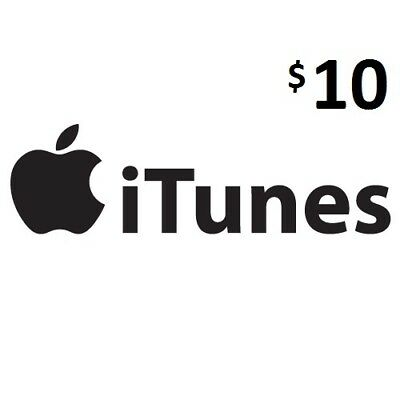 $10 iTunes, Genuine, Australian Store Only, Music,Movies,Books,Apps and More4May