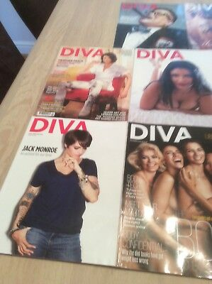 diva magazines.   For sale at £1 each ,! some special editions from 2013/2016