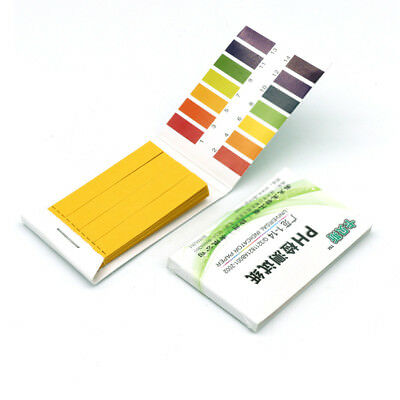 1/5/10pcs 80 pH 1-14 Full Range Litmus Test Paper Strips Tester Indicator Urine