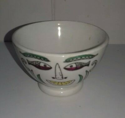 Delightful Vintage Fornasetti Footed Bowl, Milano.  Italy.
