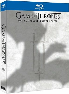 GAME OF THRONES, Staffel 3 (5 Blu-ray Discs, Schuber) NEU+OVP