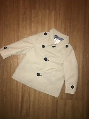 River Island Mini Baby Boy Mack Style Jacket 6-9 Months