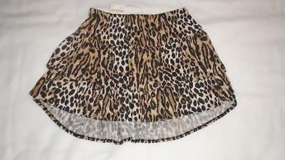 NEW Girls Size 6 Gymboree Outlet Skirt Animal Print Tiered RP $24 2018 Line NWT